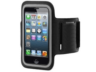 iPhone 5/5S/SE & iPod Touch 5/6 Sport Armband in schwarz