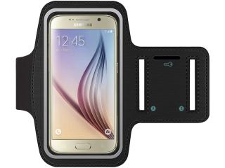 Samsung Galaxy S3 S4 S5 S6 S6 Edge Sport Armband Fitness - schwarz