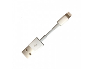iPhone Lightning USB Ladekabel für iPhone 7 / 8 / X - Ultra kurz (7cm)