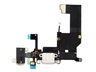 iPhone 5 Lightning Dock Connector / Audio Flex / Mikrofon - Weiss