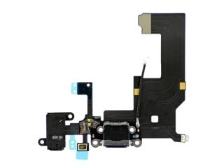 iPhone 5 Lightning Dock Connector / Audio Flex / Mikrofon - Schwarz