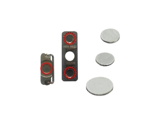 iPhone 4 / 4S Power Volume Button Spacer / Pl�ttchen Set f�r Einschalt- und Lautst�rke K..