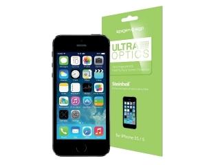 iPhone SE SGP Steinheil Anti Fingerprint Schutzfolien 2 Stück im Set