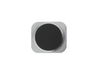 iPhone 5 Home Button Knopf im iPhone 5S Look - Schwarz / Graphit