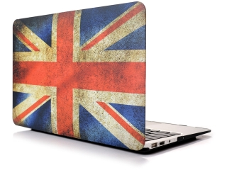 "MacBook Air 13"" Schutzhülle - UK/GB Flagge Matt Case SmartShell-Hülle"
