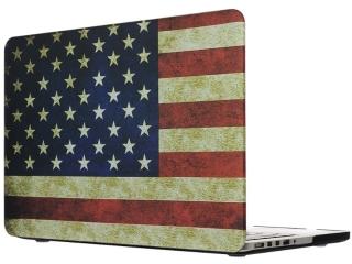 "MacBook Pro Retina 13"" Schutzhülle USA Flag Matt Case SmartShell-Hülle"