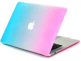 "MacBook Air 13"" Schutzhülle - Blau Pink - Matt Case SmartShell-Hülle"