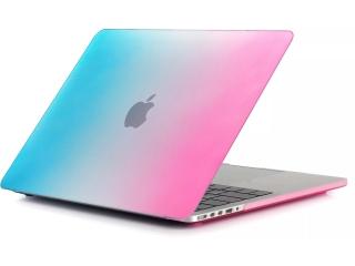 "MacBook Pro Retina 13"" Schutzhülle Blau Pink Matt Case SmartShellHülle"