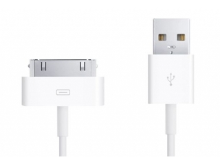 Apple iPhone 4/4S 30-pin USB Ladekabel MA591G/C (Original Apple)