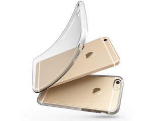 iPhone 6 / 6S Gummi Hülle flexibel dünn transparent thin clear case