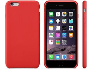 iPhone 6/6S Plus Leder Case Red - rot - Echt Leder Cover Schutzhülle