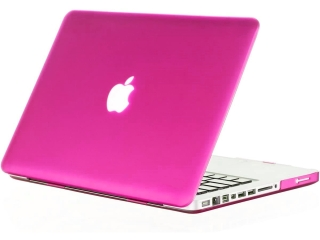 "MacBook Pro 13"" Schutzhülle - Pink - Matt Case SmartShell-Hülle"