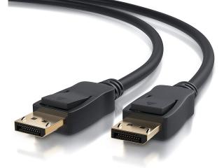 Display Port auf Display Port Kabel 1.8 Meter - schwarz