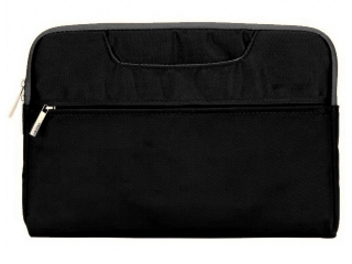 "Color MacBook Sleeve 11"" Slim Schutzhülle Notebook Tasche - schwarz"