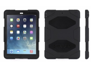 Griffin Survivor Military iPad Air 2 Case Outdoor Schutzhülle schwarz