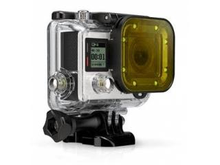 GoPro Tauchfilter gelb für GoPro Hero 3+ und Hero 4 - für Tauchgehäuse