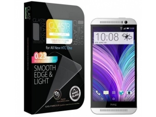 HTC One M9 Premium Glas Folie Panzerglas HD Real Glass Schutzglas
