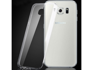 Samsung Galaxy S6 Thin Case Hülle Cover Gummi transparent durchsichtig