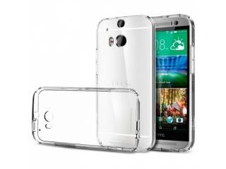 HTC One M9 Thin Schutzhülle Cover Gummi transparent durchsichtig
