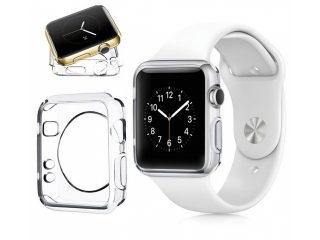 Apple Watch 42mm Ultra Thin TPU Cover Gummi Schutzhülle transparent