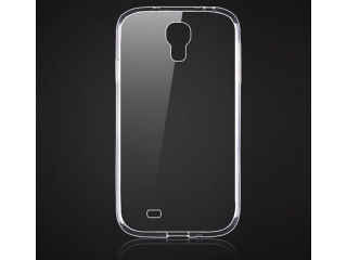 Samsung Galaxy S4 Thin Case Hülle Cover Gummi transparent durchsichtig