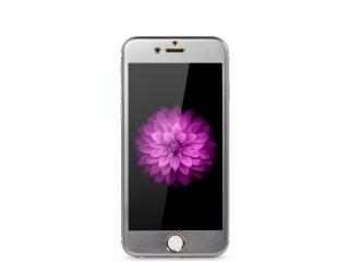 REMAX iPhone 6/6S Plus iVisor HD Panzerglasfolie Metall Rahmen Titan