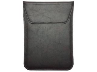 Universal Ledertasche Slim Sleeve iPads 9-10 Zoll Tablets Dunkelbraun