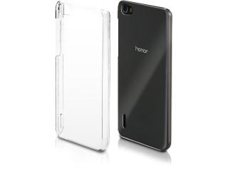 Huawei Honor 6 Thin Schutzhülle Cover Gummi transparent durchsichtig