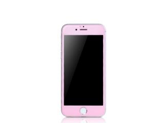 REMAX iPhone 6/6S iVisor Tempered Panzerglas + Rahmen in Rosa matt