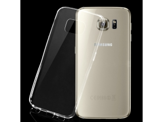 "Samsung Galaxy S6 Edge+ Plus 5.7"" Thin Case Hülle Gummi transparent"
