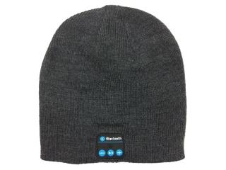 Bluetooth Audio Sound Mütze mit Mikrofon - Dunkelgrau