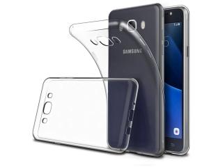 Samsung Galaxy J7 (2016) Ultra Thin Case Hülle Cover Gummi transparent