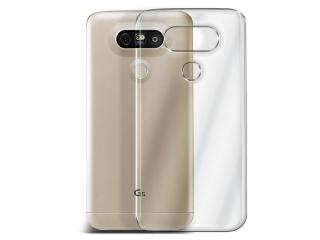 LG G5 Thin Schutzhülle Cover Gummi transparent durchsichtig flexibel
