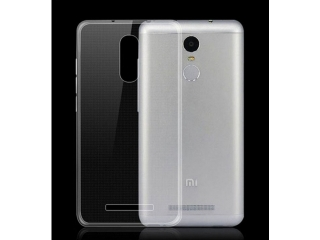 Xiaomi Redmi Note 3 Pro Thin Clear Hülle Cover Gummi durchsichtig
