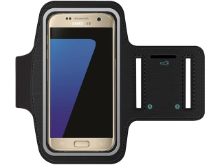 Samsung Galaxy S7 Edge / S6 Edge+ / Note 2/3/4/5 Sport Armband schwarz