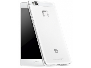 Huawei P9 Lite Thin Case Hülle Cover Gummi transparent durchsichtig