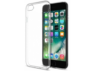 iPhone 8 Gummi Hülle Cover transparent durchsichtig klar thin clear