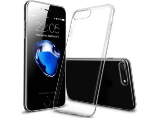 iPhone 7 Plus Thin Clear Hülle Cover Gummi transparent durchsichtig