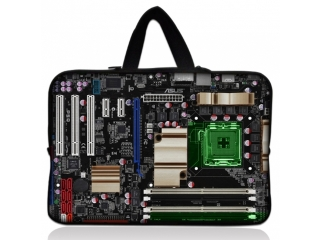 "Neoprene MacBook Sleeve 13"" Slim Soft Hülle Tasche Computer Mainboard"