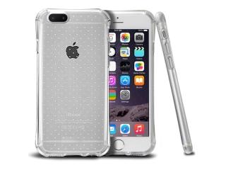 iPhone 8 Plus Dots Clear Hülle + verstärkten Ecken Kanten transparent
