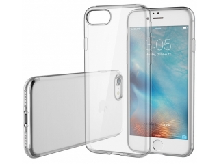 iPhone 8 Extra starke & stabile Gummi Hülle - transparent clear TPU