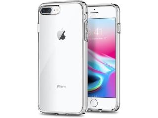iPhone 7 Plus Extra starke & stabile Gummi Hülle transparent clear TPU