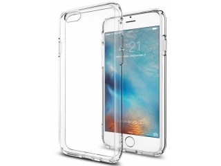 iPhone 6 Plus Extra starke & stabile Gummi Hülle transparent Clear TPU