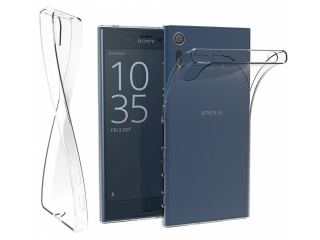 Sony Xperia XZ Thin Clear Hülle Cover Gummi transparent durchsichtig