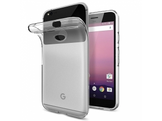 Gummi Hülle für Google Pixel flexibel dünn transparent klar thin clear
