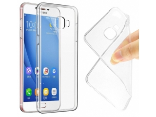 Gummi Hülle für Samsung Galaxy C7 flexibel dünn transparent thin clear