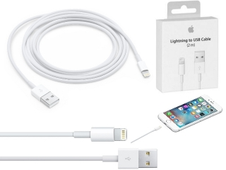 Apple Lightning auf USB Kabel 2 Meter (Original Apple) für iPhone 7