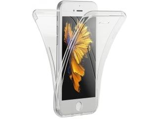 360 Grad iPhone 7 Touch Case Transparent Klar Silikon TPU Rundumschutz