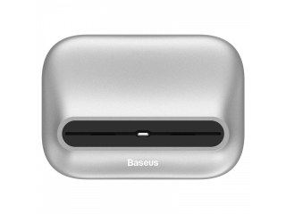 Baseus Little Volcano iPhone X/Xs Dock Ladestation DesktopStand Silber