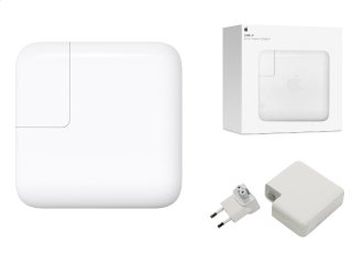"Apple 29W USB-C Power Adapter Netzteil für MacBook 12"" (Retail Box)"
